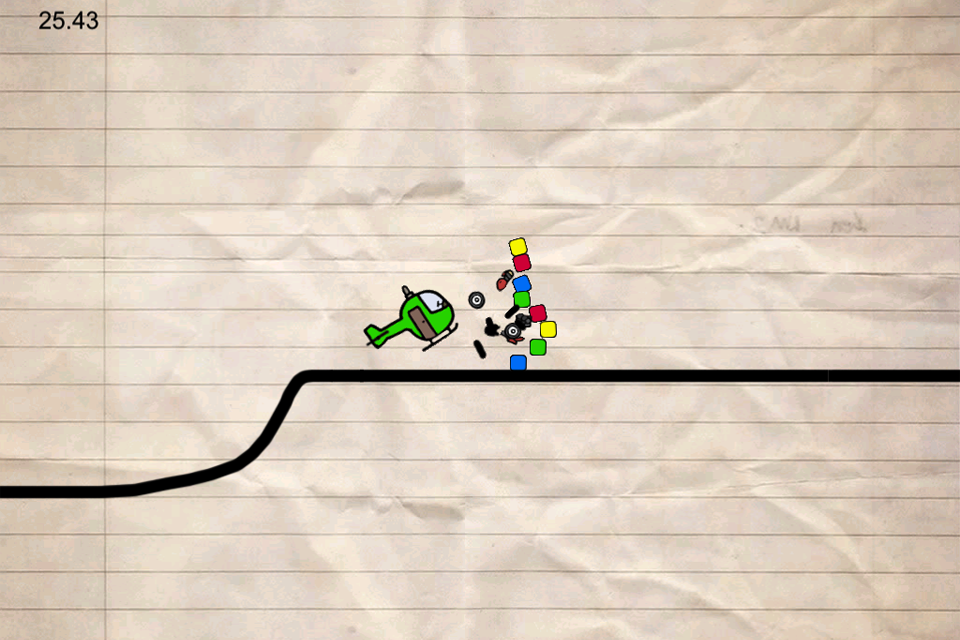 Screenshot Doodle Biker Micro