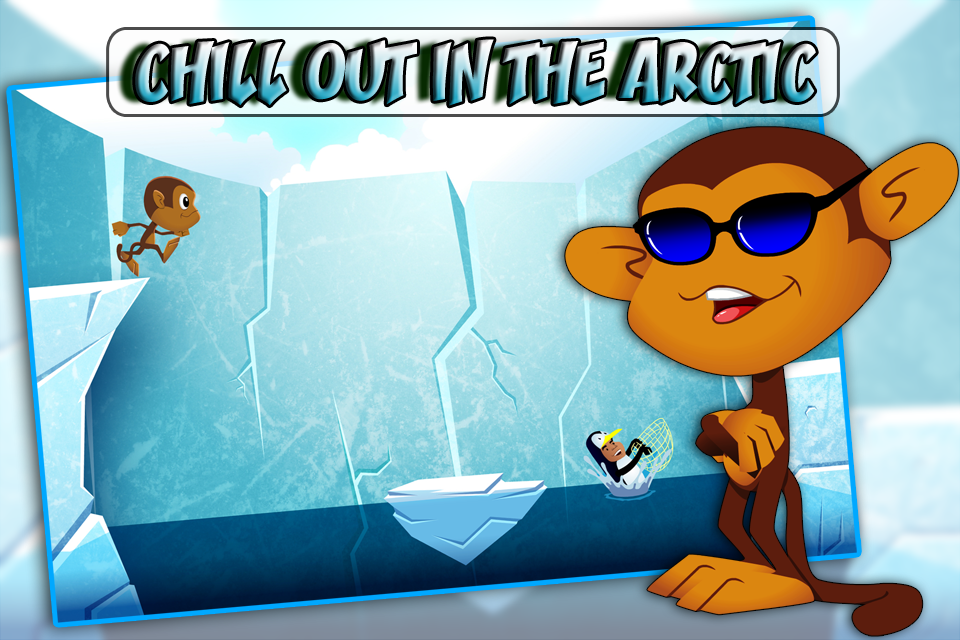 Screenshot Mega Monkey Jump: Kico's Jumping Adventure!