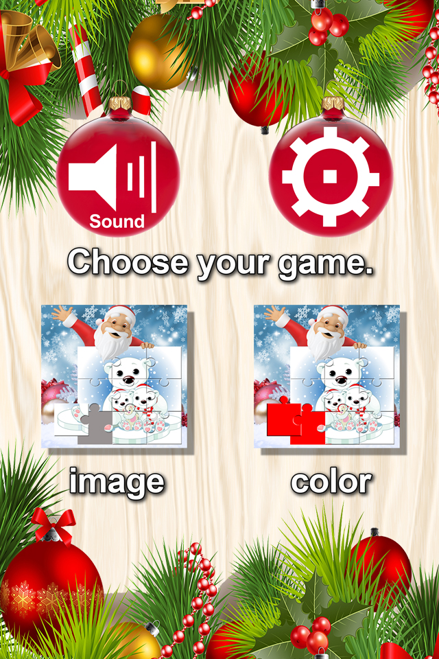 Screenshot Santa & Friends Lite – Christmas Puzzle